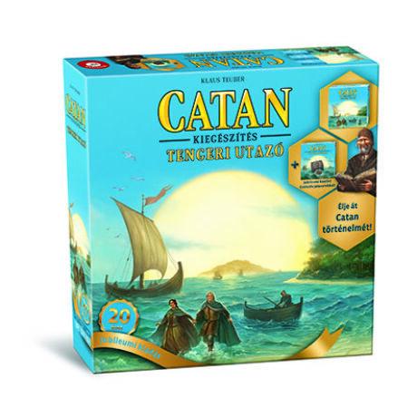 Catan kiegészítő - Tengeri Utazó Jubileumi kiadás